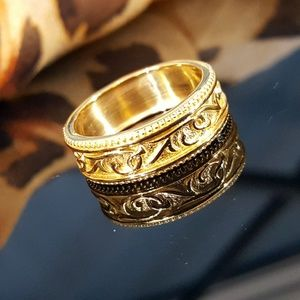 14K Yellow Gold Plated .925 Sterling Silver